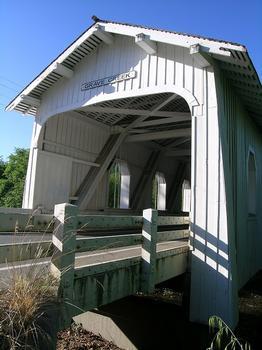 Grave Creek Covered Bridge