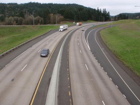 I-5: At OR-38 Interchange, Milepoint 162, Oregon