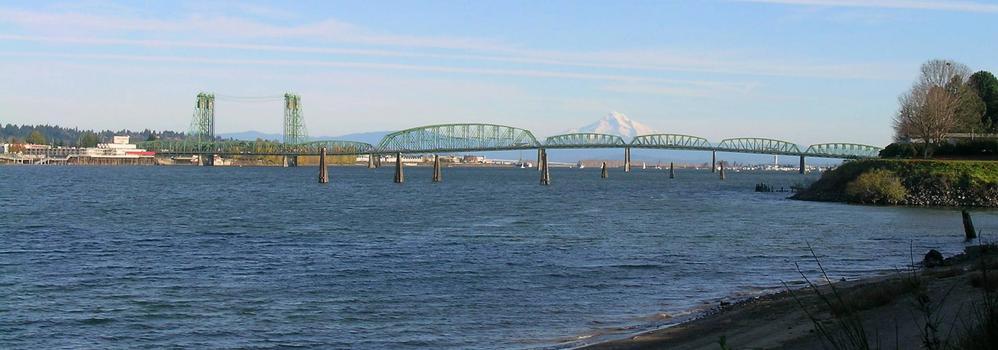 Interstate Bridge from west