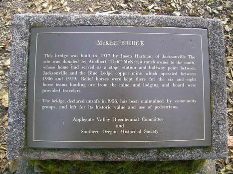 Applegate River Bridge