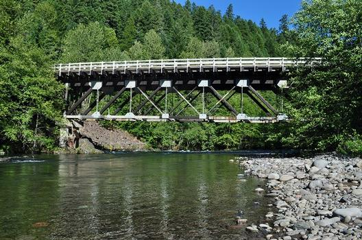 Middle Fork Willamette River Bridge