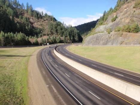 I-5: Canyon Mountain in Southern Oregon, Milepoint 95, Oregon