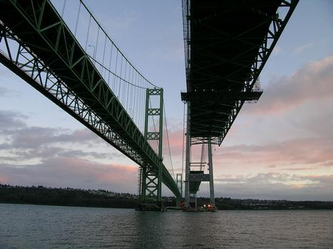 New Tacoma Narrows Bridge Construction