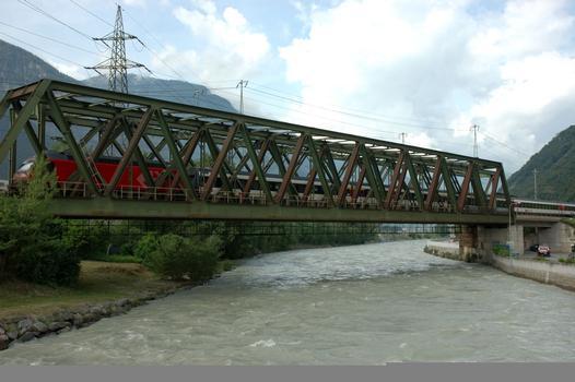 Eisenbahnbrücke Brig