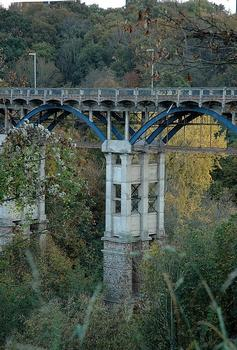 Toupin viaduct, Saint Brieuc. Louis Harel de la Noë typical design