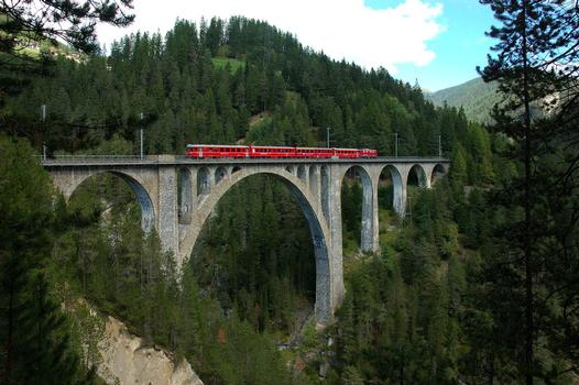 Wiesen Viaduct, Switzerland