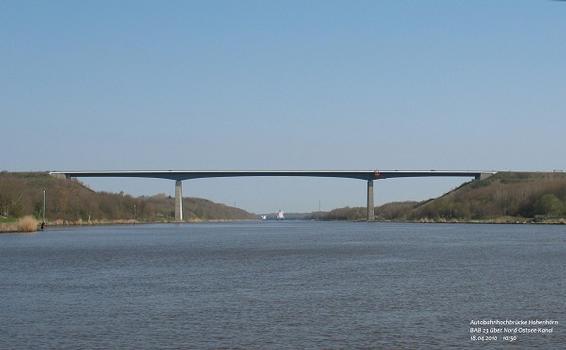 North & Baltic Sea Canal – A 23 Motorway (Germany) – Hohenhörn High Bridge