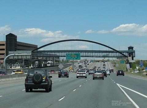 Interstate 25 south of Denver