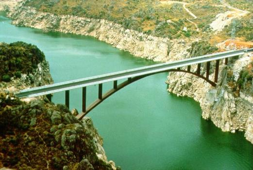 Ricobayo Dam Bridge