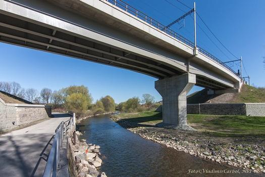 Eisenbahnbrücke Jablunkov