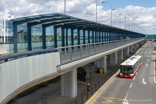 Prague Airport Bridges