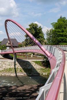 Bicycle and Pedestrian Bridge in Český Těšín