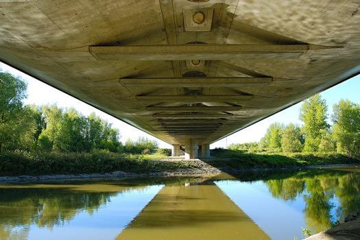 D1 Motorway Bridge over Odra River and Antošovice Lake