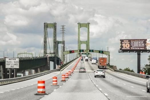 Pont sur le Delaware River