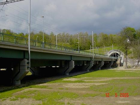 Eisenbahnbrücke Tatenice