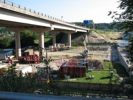 Autobahnbrücke Arbouans