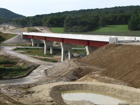 TGV Rhine-Rhone – Aibre-Trémoins Viaduct