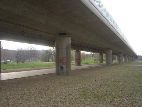 A 10 Berliner Ring Brücke /L 79 Potsdamer Straße in Ludwigsfelde Landkreis Teltow Fläming im Land Brandenburg