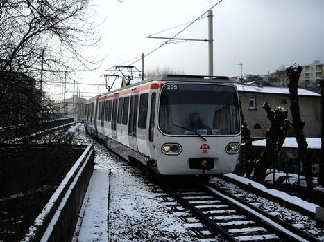 Metrobahnhof Cuire