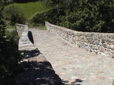 Pont Romain in Le Lauzet Ubaye (F)