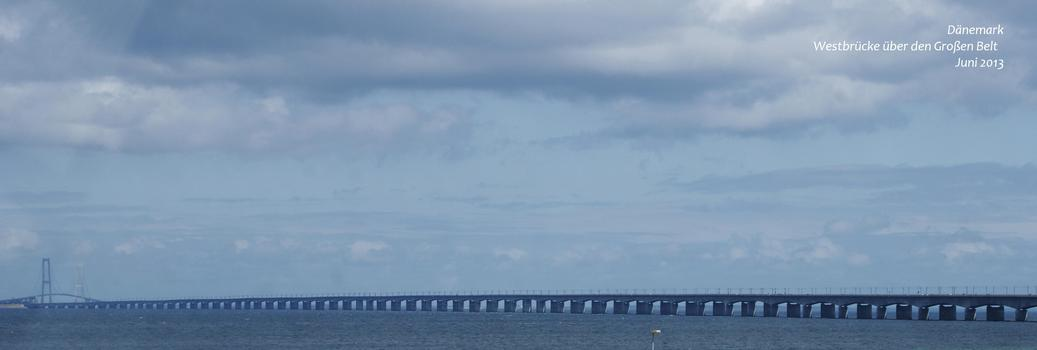 Westbrücke über den Großen Belt