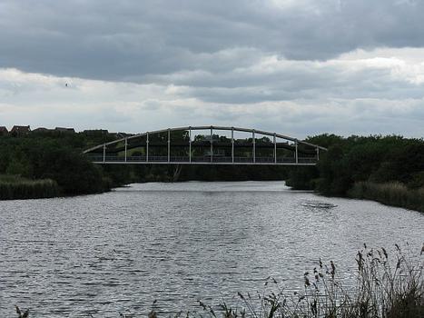 From river bank near Jubilee Bridge