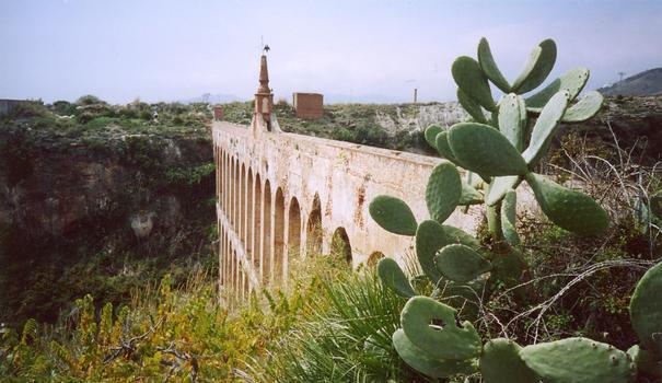 Aguila-Aquädukt, 18. Jh., bei Nerja (Andalusien)