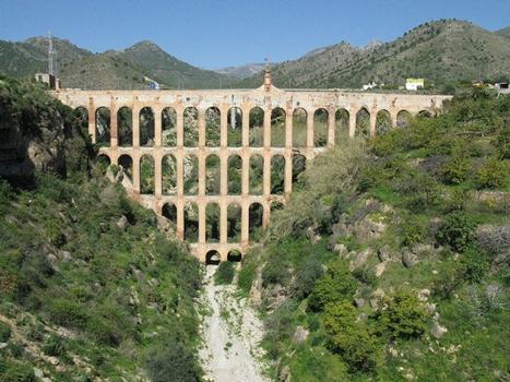 Aguila-Aquädukt, 18. Jh. bei Nerja, Südspanien