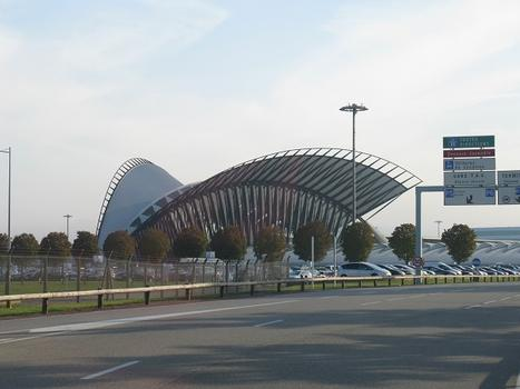 Lyon-Saint Exupéry Airport Station