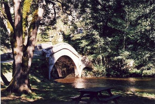 Old Pierre-Perthuis Bridge