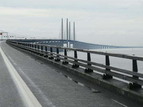 auf der Öresundbrücke
