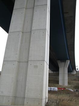 Mosel-Viadukt in Schengen