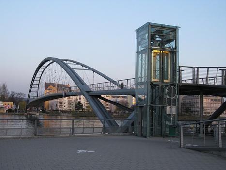Huningue, Passerelle des Trois Pays (Dreiländerbrücke)
