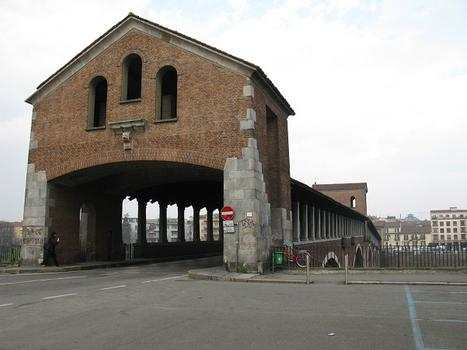 Pavia Covered Bridge