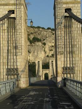 Pont de Robinet, Rhône-Durchbruch bei Donzère