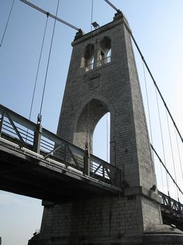 La Voulte-sur-Rhône, Hängebrücke