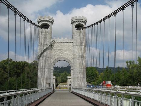 Pont Charles Albert, bei Cruseilles (ältere der beiden Ponts de la Caille)