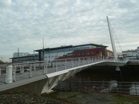 Vegesacker Hafen Footbridge