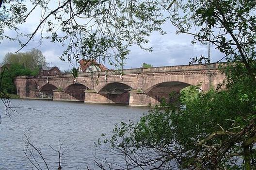 Eisenbahnbrücke Ladenburg