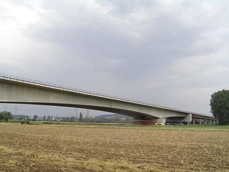 A6 bridge across the Neckar at Neckarsulm