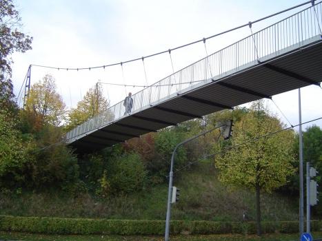 Fußgängersteg am Kochenhof