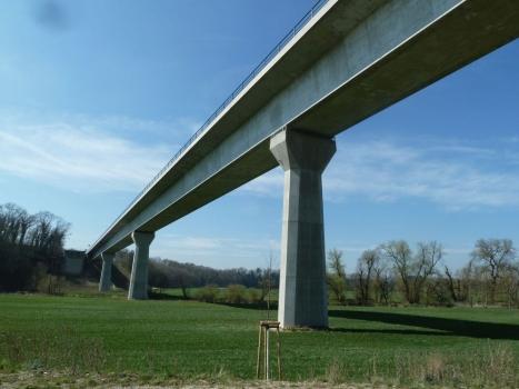Neuer Donautalviadukt bei Untermarchtal