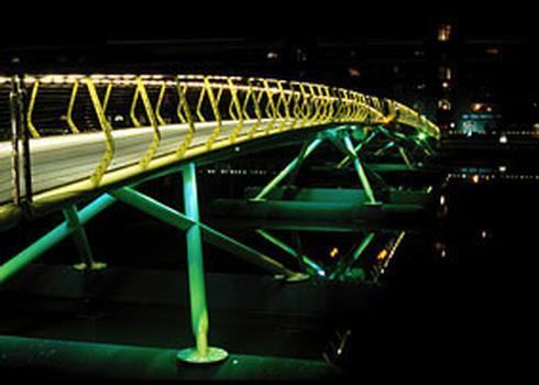 West India Dock Footbridge, London