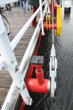 Foldable Bridge in Kiel