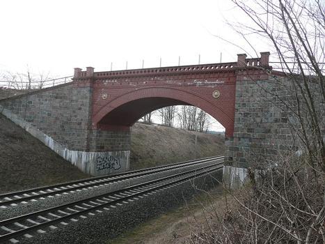 Löwenkopfbrücke Ansicht von Ost
