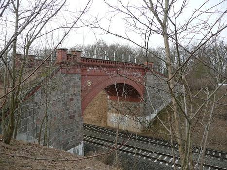 Löwenkopfbrücke Ansicht von Süd