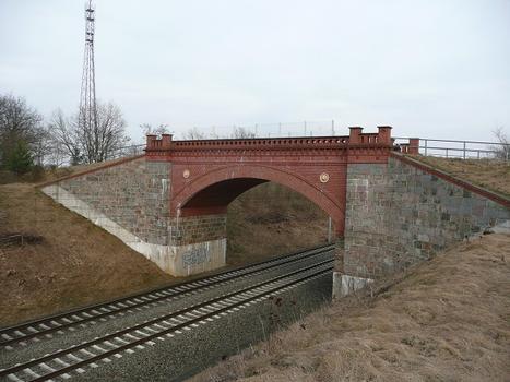 Löwenkopfbrücke Ansicht von West