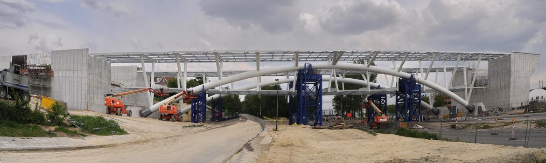 Eisenbahnbrücke Woluwelaan