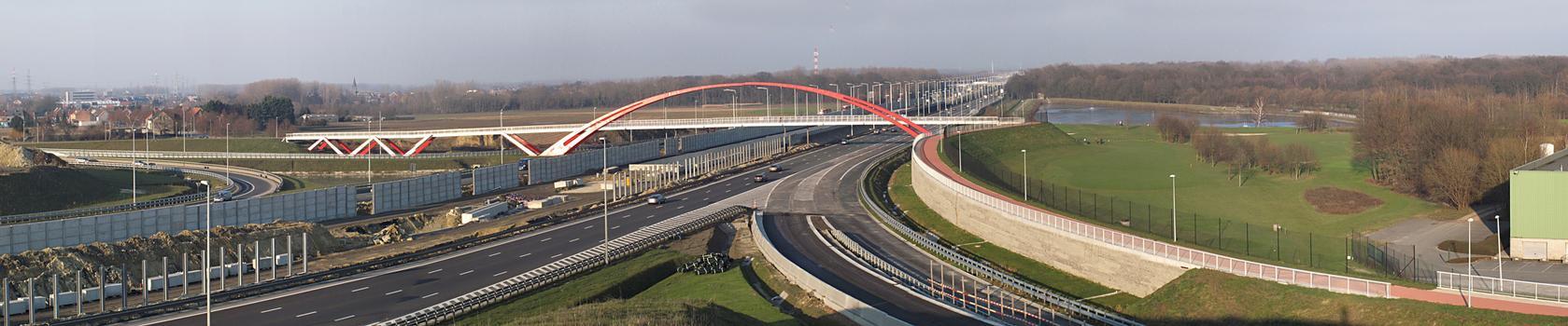 Machelen Footbridge