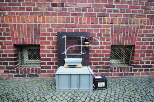 Wasseraufnahmemessgerät – Prototyp